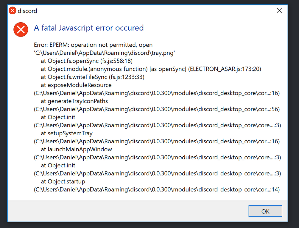 How To Fix Discord Javascript Error [Fatal Error]