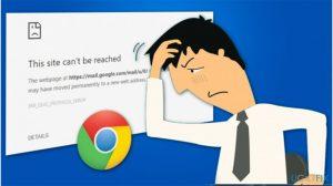 ERR_QUIC_PROTOCOL_ERROR On Chrome