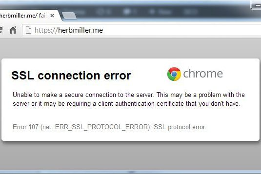 ERR_SSL_PROTOCOL_ERROR  In Google Chrome: How To Fix