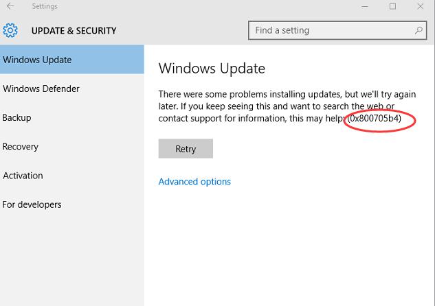 Error 0x800705b4 on Windows Update: How to Fix?