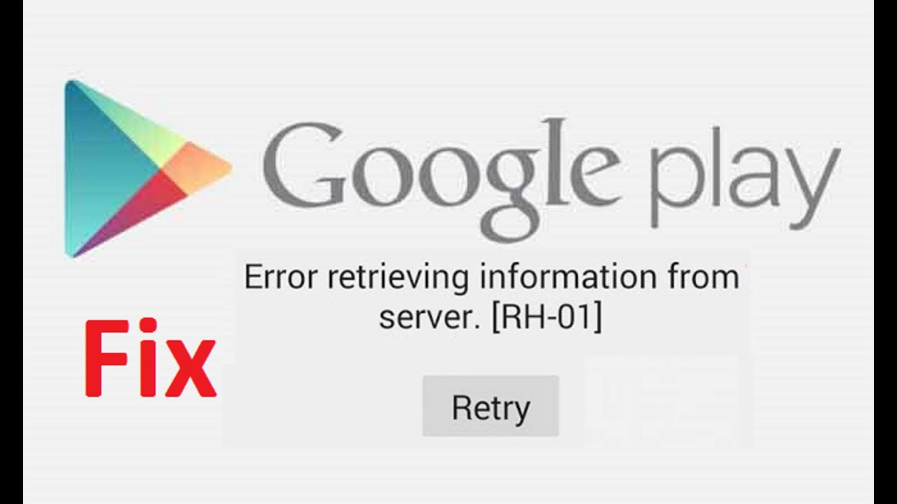 RH-01 Error Retrieving Information From Server – 9 Solutions