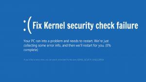 Fix Kernel Security