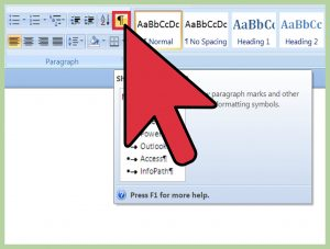 How to delete blank pages in the Word