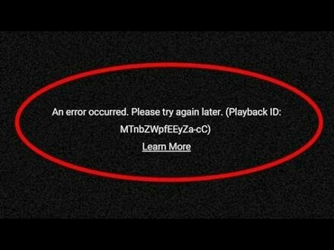 How to Fix YouTube Playback Error Quickly & Effectively