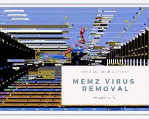 MEMZ Manual removal