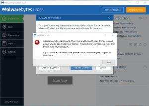 Malwarebytes antimalware unable to connect