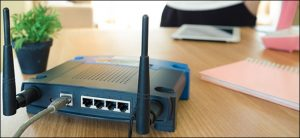 Restart computer or router