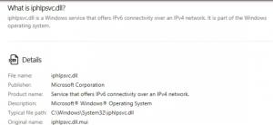 iphlpsvc.dll error