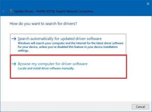 Update the PC Device Driver