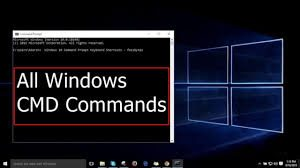 Windows command prompt commands list