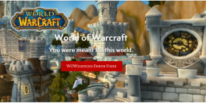 How To Fix WOW51900319 Error in World of Warcraft Game?