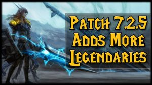 World of Warcraft Legion Patch 7.2.5