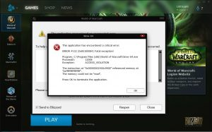 Wow-64.exe Application Error Easily