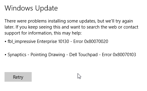 error 0x80070020