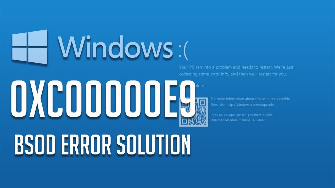 How to Fix Windows Error 0xc00000e9 – Unable to Boot Error