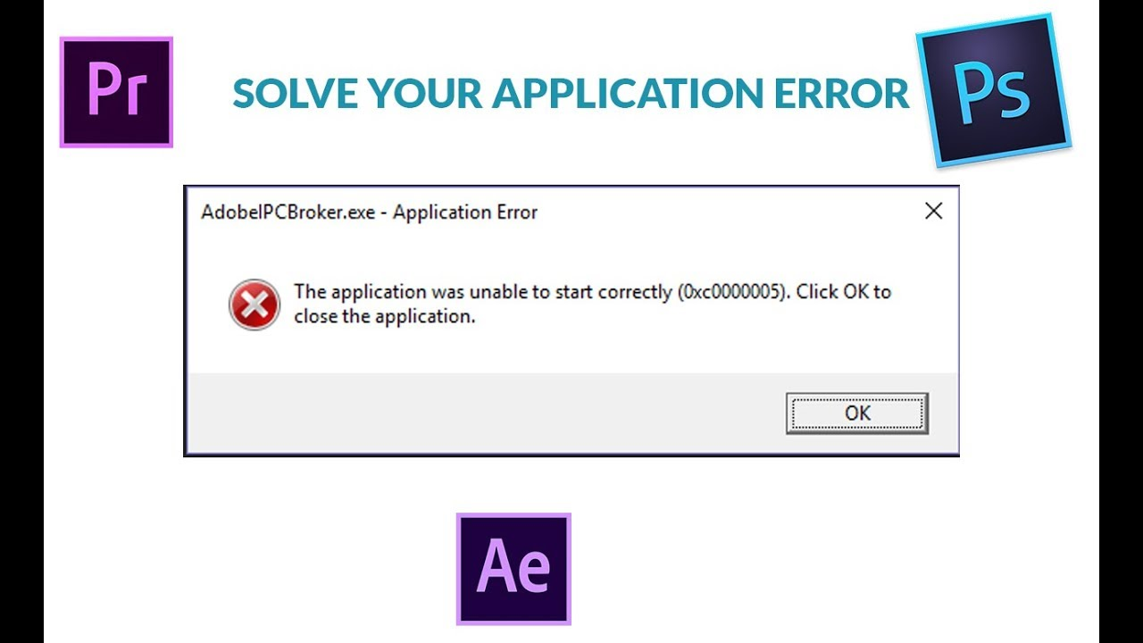 Fix Wow Error 0xc0000005 The Application Was Unable To Start Correctly