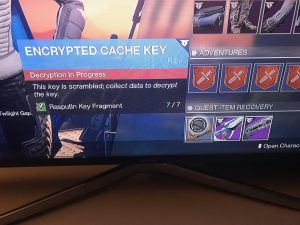 What is and how to Get Decrypted Cache Key in Destiny 2