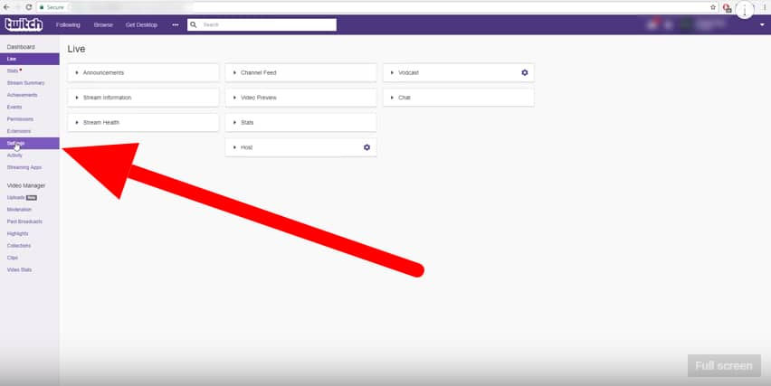 Where to Find Your Stream Key and How to Stream on Twitch