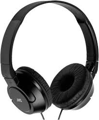 JVC HAS180B The Amazing On-Ear Headphones, Black