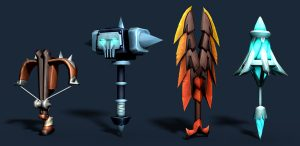 Weapons in SDB Game in Steam