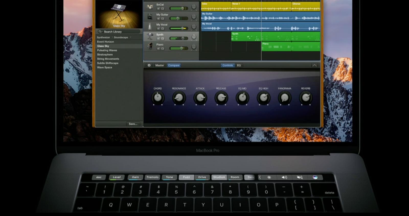 Apple GarageBand-daW-MUSIC-RECORDING-SOFTWARE