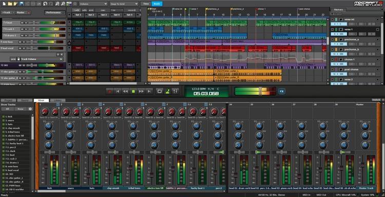 Acoustica Mixcraft-daw